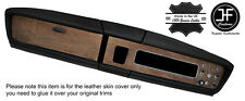 BLACK STITCHING DASH DASHBOARD LEATHER COVER FITS MG 1100 MK1 CLASSIC