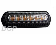 Ámbar Led 12v 24v alerta de seguridad Strobe Direccional Lámpara Luz Reg 10 Reg 65
