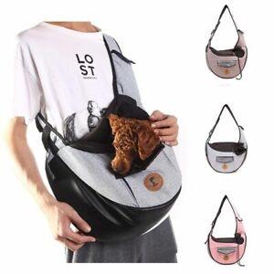 Dog Backpack Carrier Front Chest Puppy Sling Travel Bag Reversible Adjustable