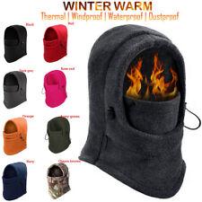 Mens Winter Face Mask Warm Cap Cold Balaclava Fleece Hat Full Neck Outdoor Sport