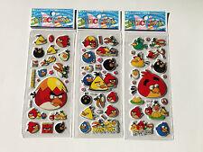 10 X pegatinas de Angry Birds Fiesta Bolsa Rellenos Cumpleaños Fiesta Favores, Juegos