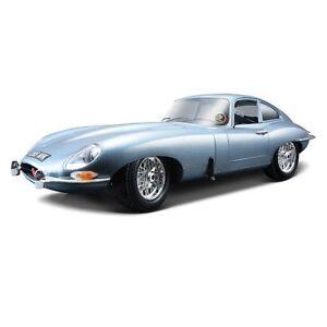 Bburago 1:18 Jaguar E type Coupe Diecast Model Sports Racing Car Toy Vehicle