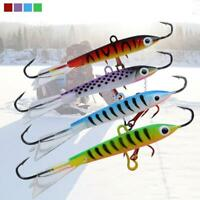Artificial Bait Ice Fishing Hard Lure Useful Winter 3D Eyes Life-like Effective