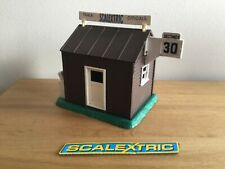 SCALEXTRIC RARE VINTAGE TIMEKEEPERS HUT  - A238 Excellent condition