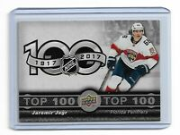 2017-18 UPPER DECK TIM HORTONS TOP 100 #TOP5 JAROMIR JAGR UD PANTHERS