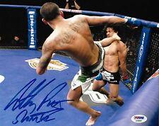 Anthony Pettis Signed UFC 8x10 Photo PSA/DNA COA WEC 53 Showtime Kick Picture