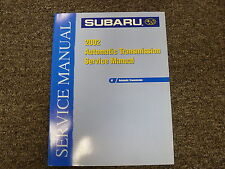 2002 Subaru Legacy Outback Impreza Forester Transmission Service Repair Manual