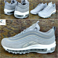 Nike Air Max 97 - Womens Trainers - Uk 5 Eu 38.5 - Glitter Wolf Grey AT0071 001