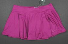 NEW! NIKE [S] Womens Baseline Tennis Skort-Purple 728775-501