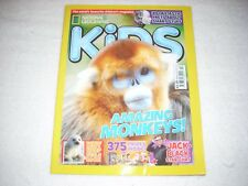 National Geographic Kids Magazine Issue 121 February 2016 Amazing Monkeys