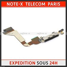 Charger Charging Dock USB Port Connector Flex Cable for iPhone 4 black