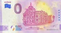 BILLET 0  EURO KOSICE  SLOVAQUIE  ANNIVERSARY 2020  NUMERO DIVERS