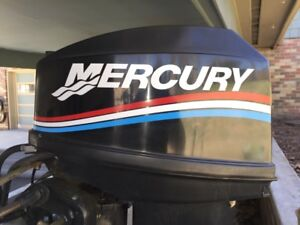 Mercury Outboard Decal Kit  25 hp  message for 20 fast, free ship