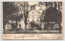 WEST VIRGINIA HARPER'S FERRY STORER COLLEGE 1907 TO PAULINE CAMPTON, TAUNTON, MA