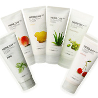[The Face Shop] Herb Day 365 Cleansing Foam 6 Types Pick One! Cleanser Korea