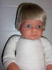 """Lee Middleton ~ Darling Vinyl 17"""" Little Blonde Haired Blue Eyed Boy 1998"""