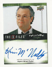 Kevin McNulty The X Files Ufos & Aliens Paranormal Script Autograph Card Auto