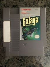Galaga: Demons of Death Nintendo NES shooter game Clean Tested