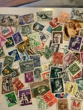 worldwide stamps collections lots 100 Stamps Used