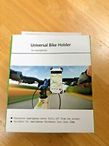 Universal Motorcycle Bike Bicycle Handlebar Cell Phone GPS Stand Holder Mount