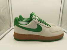 Nike Air Force 1 UK 7.5 Light Bone Aloe Verde Green AJ7282-003