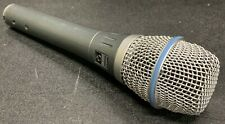 Shure Beta 87A pro wired vocal condenser mic microphone supercardioid