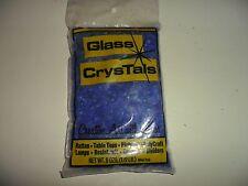 Vintage Crushed Blue Glass Crystals