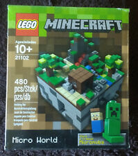 LEGO 21102 Minecraft Micro World: The Forest New MISB OOP