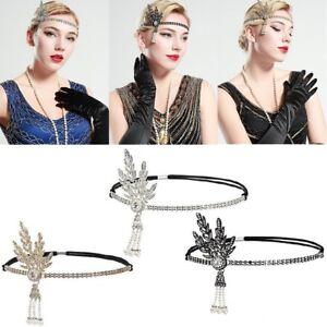 1920s Headpiece Flapper Headpiece Vintage Great Gatsby Accessories Women