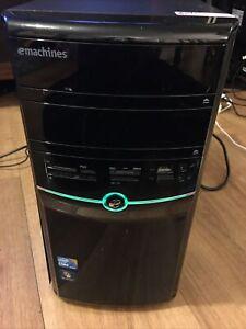 EMachines E1862 Intel Core i3 550 Windows 7 Pen 320GB HDD 2GB RAM Desktop 3.2GHz