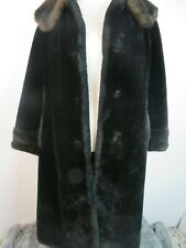 Borgazia Styled By Russel Taylor Faux Fur Black No Buttons M/L