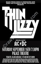 Thin Lizzy 1978 Cleveland Concert Poster