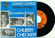 "CHUBBY CHECKER - Lovely, Lovely (Loverly, Loverly) NEAR MINT 1965 DUTCH VINYL 7"""