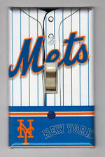 New York Mets Home Jersey Light Switch Cover Plate - Mets Home Decor