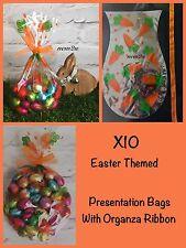 X10  Easter Egg Carrot  Gift Party Presentation Cello Cellophane Bag Eggs