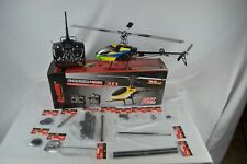 NEW IN BOX Dynam 6-Ch 2.4Ghz E-Razor 450 3D Helicopter Complete RTF With Parts