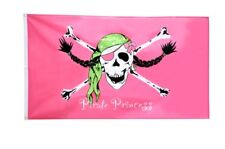 Fahne Flagge Pirat Pirate Princess Prinzessin - 90 x 150 cm Hissflagge