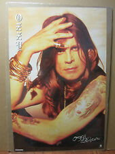 Ozzy Ozbourne rock n roll original Vintage Poster 1112