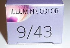 Wella Illumina Color - 9/43 Light Blonde Red-Gold 60ml 60ml