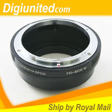 Canon FD mount lens to Canon EOS M EF-M mount Mirrorless camera adapter ring