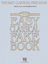 The Easy Classical Fake Book Sheet Music Melody Lyrics & Simplified Ch 000240262