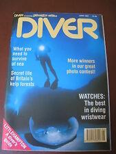 Diver Magazine June 1992
