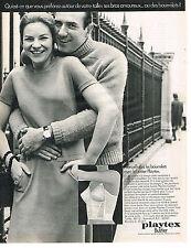 PUBLICITE  1969  PLAYTEX    bustier soutien gorge