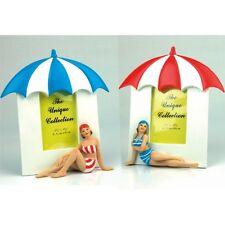 Seaside Swim Suit Ladies 3D Photo Frames Decorative Ornament (set 2)