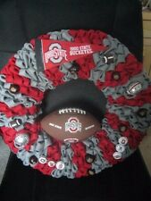 Door/Wall Wreath ~ Buckeyes ~ **Gift Idea