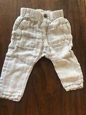 Zara Toddler Boys Pant Linen: Size 9/12