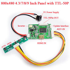 7 8 9 Inch HDMI 1080P To 50Pin TTL Signal Output Universal Controller Board