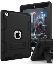 For ipad 2/3/4 Tablet Heavy Duty shockproof and Fixed Kickstand Back Cover Case