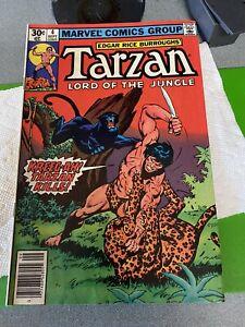 Tarzan #4 (1977)  ...A BEAST AGAIN....KEY BRONZE AGE BOOK