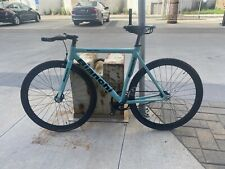 Bianchi Super Pista Fixie Track bike Fixed Gear 53mm Celeste